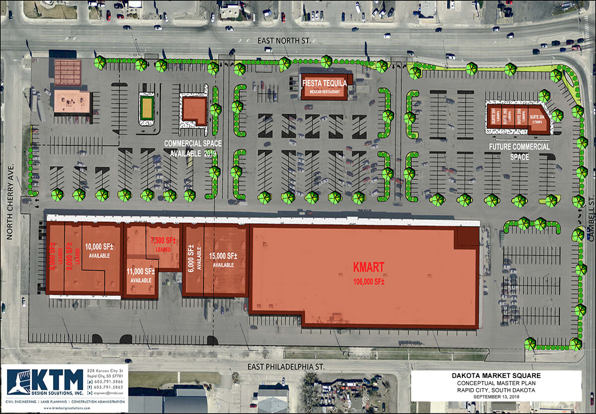 Dakota Market Square Master Plan