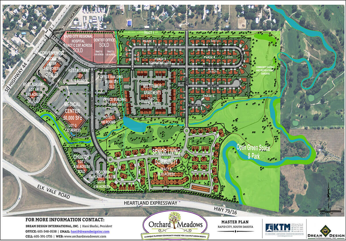 Orchard Meadows Commercial Master Plan