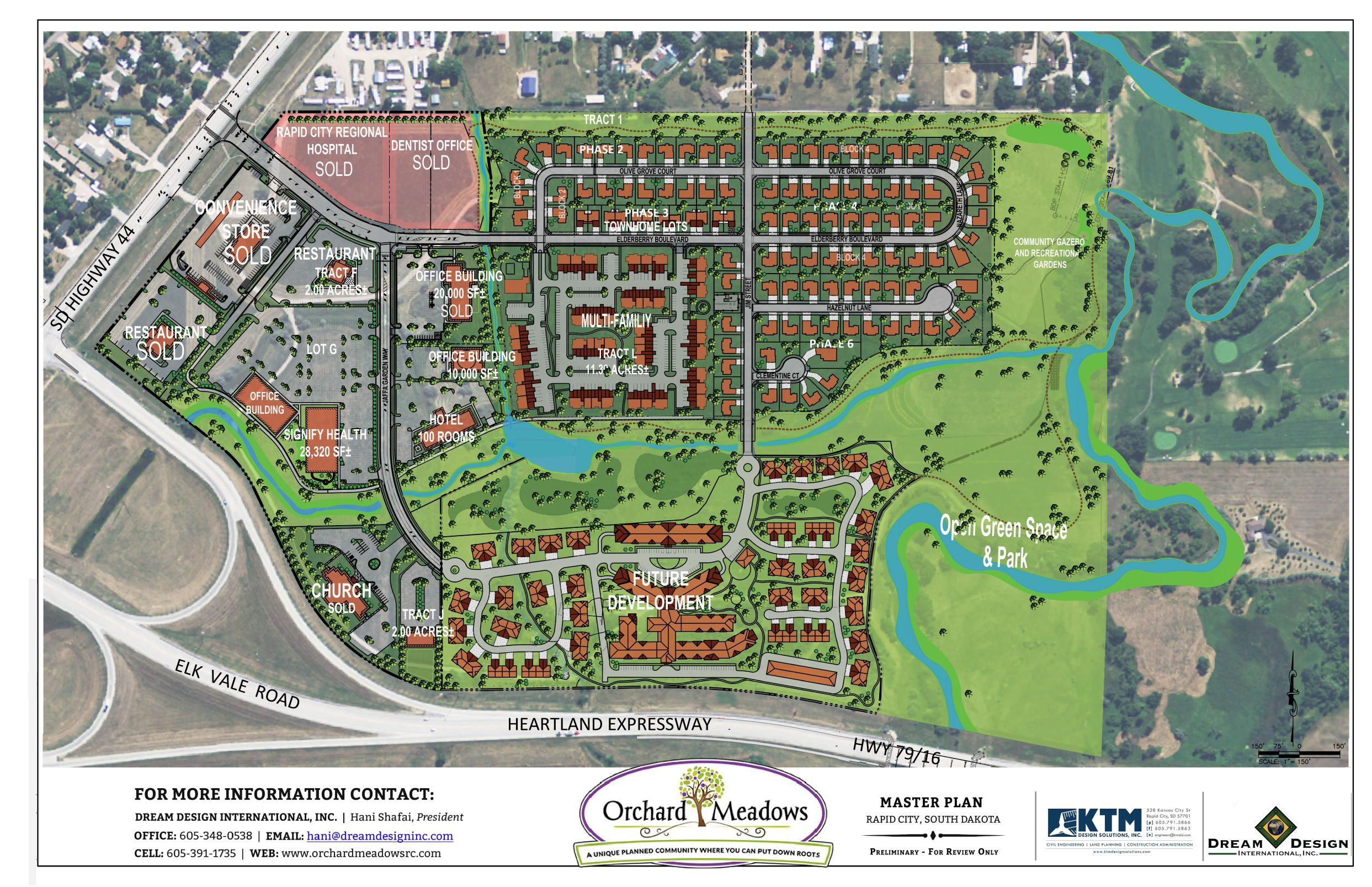 Orchard Meadows Commercial Master Plan - September 3, 2019 - 4mp