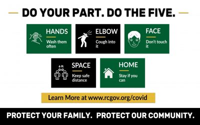 Do Your Part. Do the Five. – Rapid City's Request During COVID-19