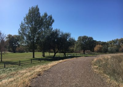 Walking Trail at Orchard Meadows