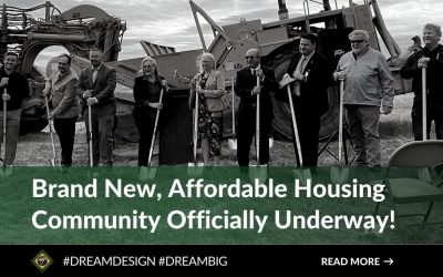 Brand New, Affordable Housing Community Officially Underway!