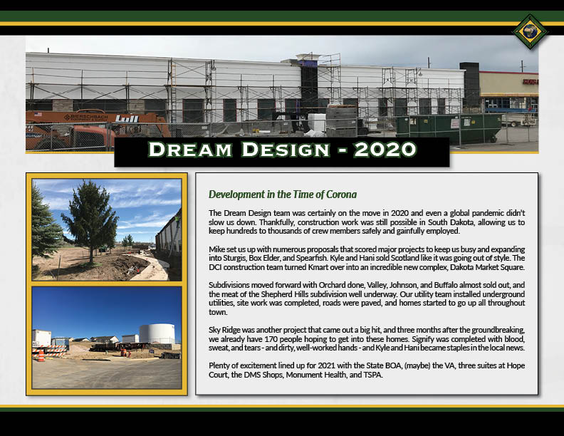 Dream Design International, Inc. - Year in Review - 2020 (1)