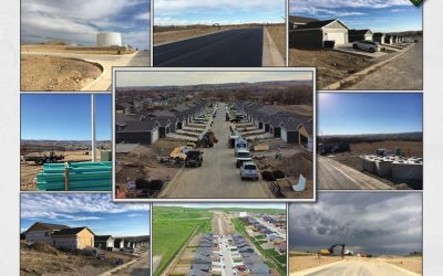 2020 YEAR IN REVIEW | Dream Construction Utility Crew Builds Diamond Ridge Extension