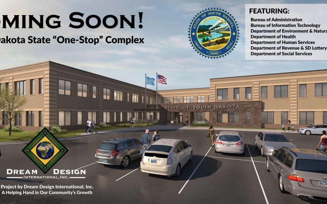 "100,000sqft State of South Dakota ""One-Stop"" Complex Coming Soon"