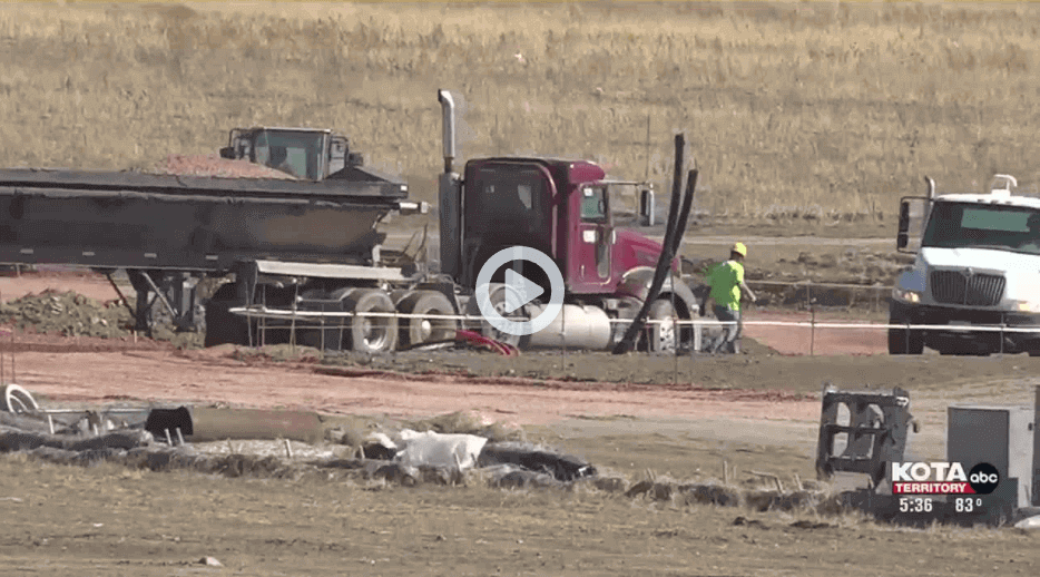 Box Elder construction for Liberty Center is ahead of schedule